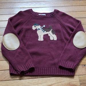 Janie and Jack tartan terrier boys sweater 6